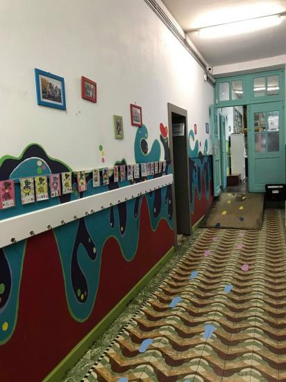 Couloir maternelle